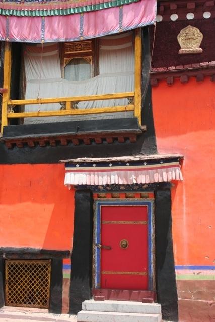 As cores do Jokhang